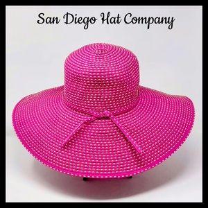 San Diego Hat Company Water Repellent Floppy W/Tie